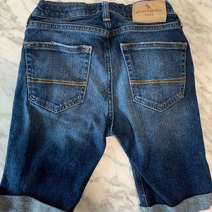 Abercrombie Kids Boys Distressed Jean Shorts